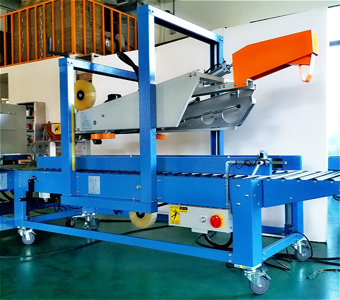 CHS-6605 Automatic Flap Folder Taping Machines